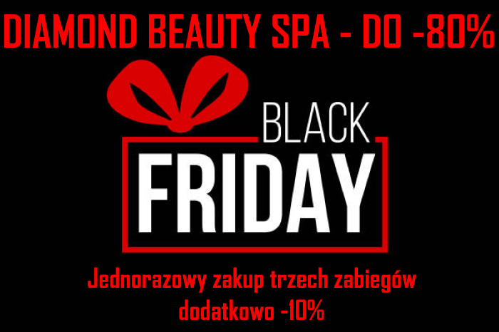 Black Friday - do -80% - Atelier Urody Diamond Beauty Spa - Wrocław